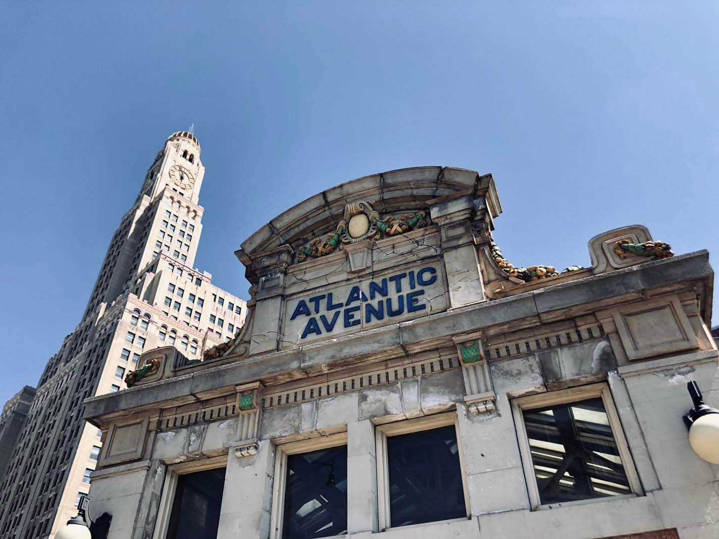 Atlantic Terminal in Brooklyn