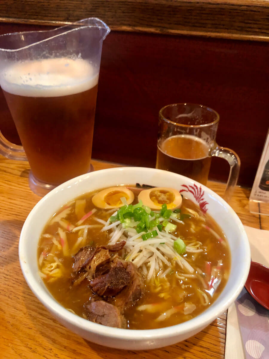 Naruto Ramen bowl on 5th Avenue in Park Slope