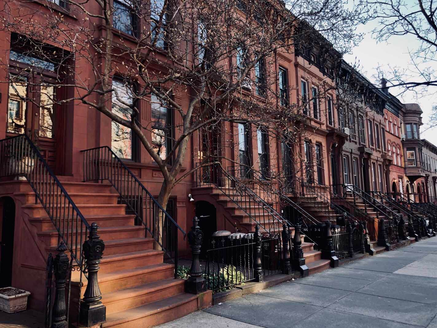 brownstones in Park Slope Brooklyn