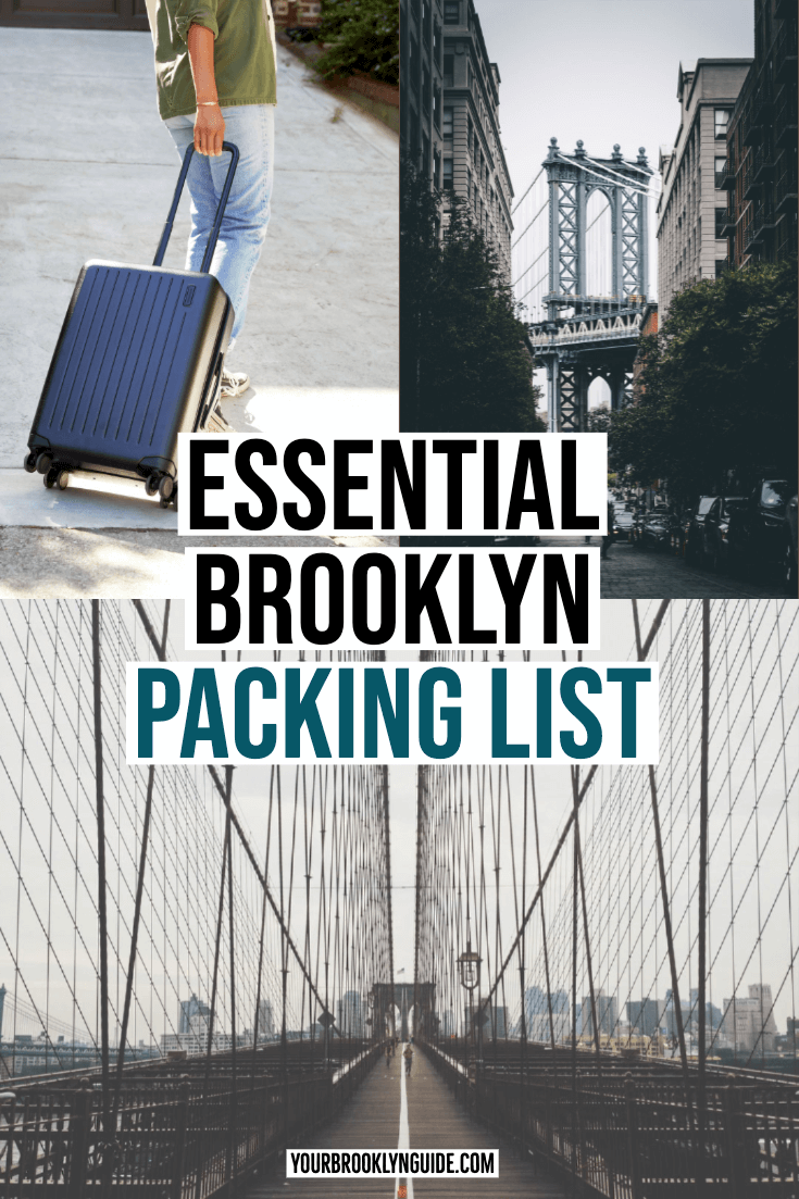what to pack for Brooklyn guide