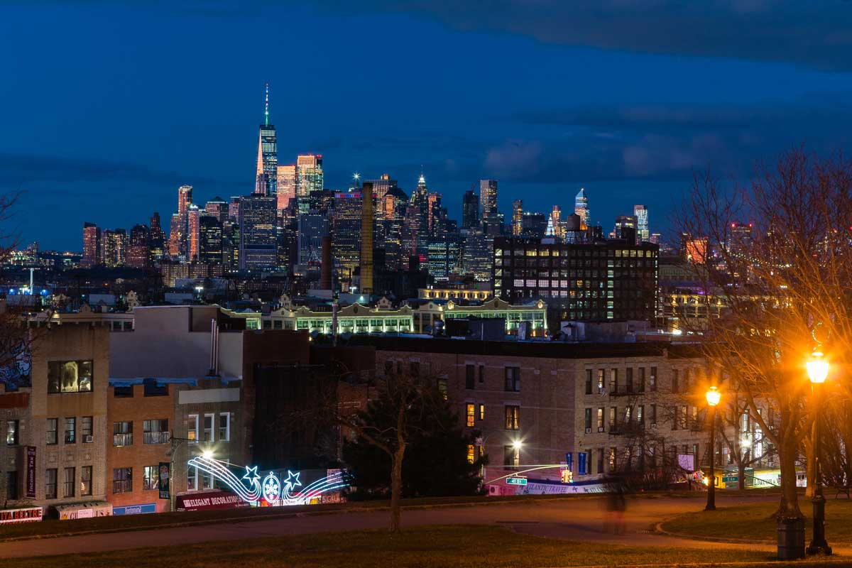 night-shot-from-Sunset-Park-in-Brooklyn
