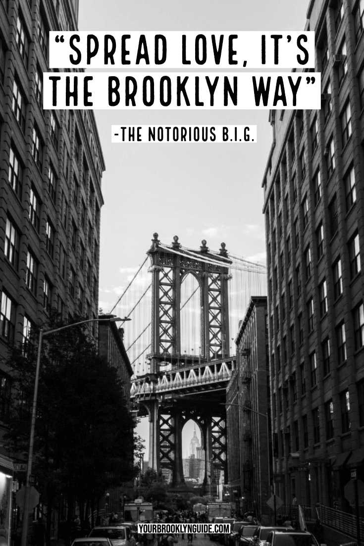 notorious BIG quote about Brooklyn