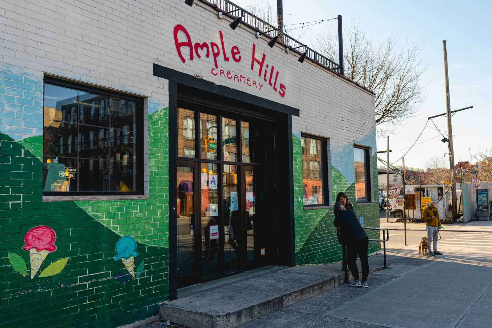 Ample Hills in Gowanus Brooklyn