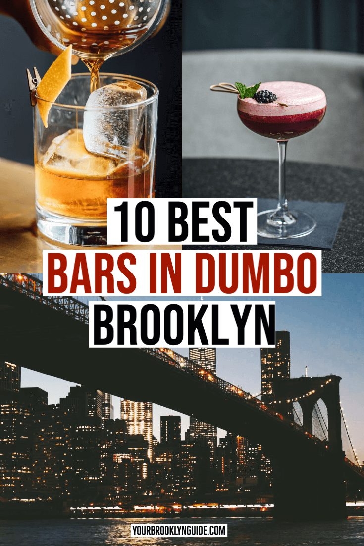 Bars in DUMBO