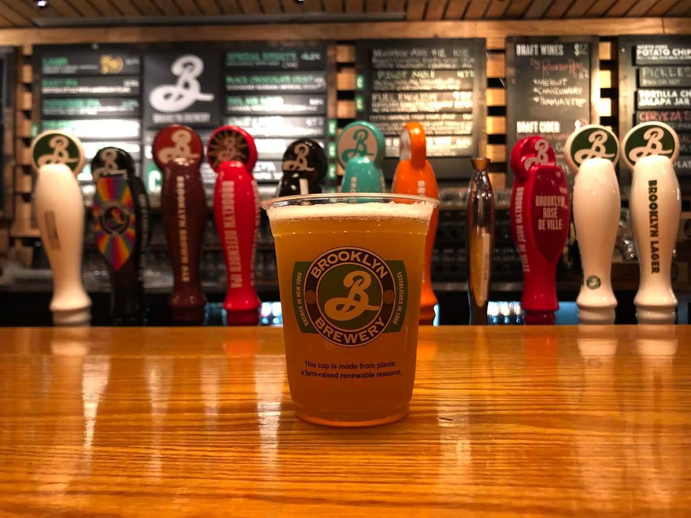 Brooklyn Brewery beer in Williamsburg