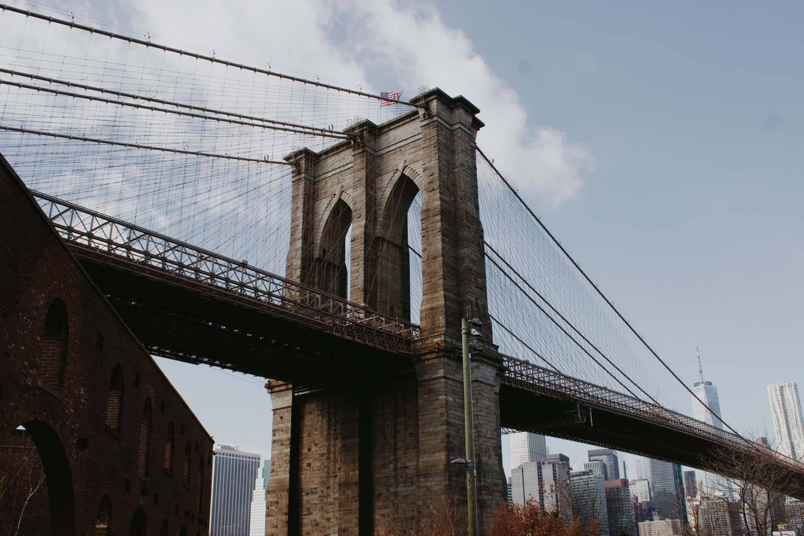 Brooklyn Bridge by Katie Hinkle