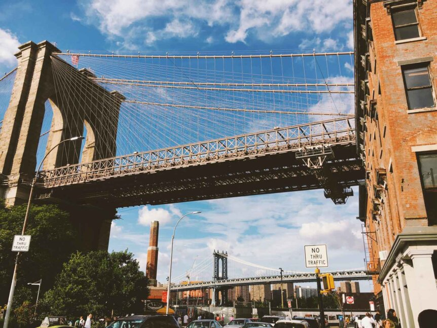Brooklyns-two-bridges-by-Katie-Hinkle