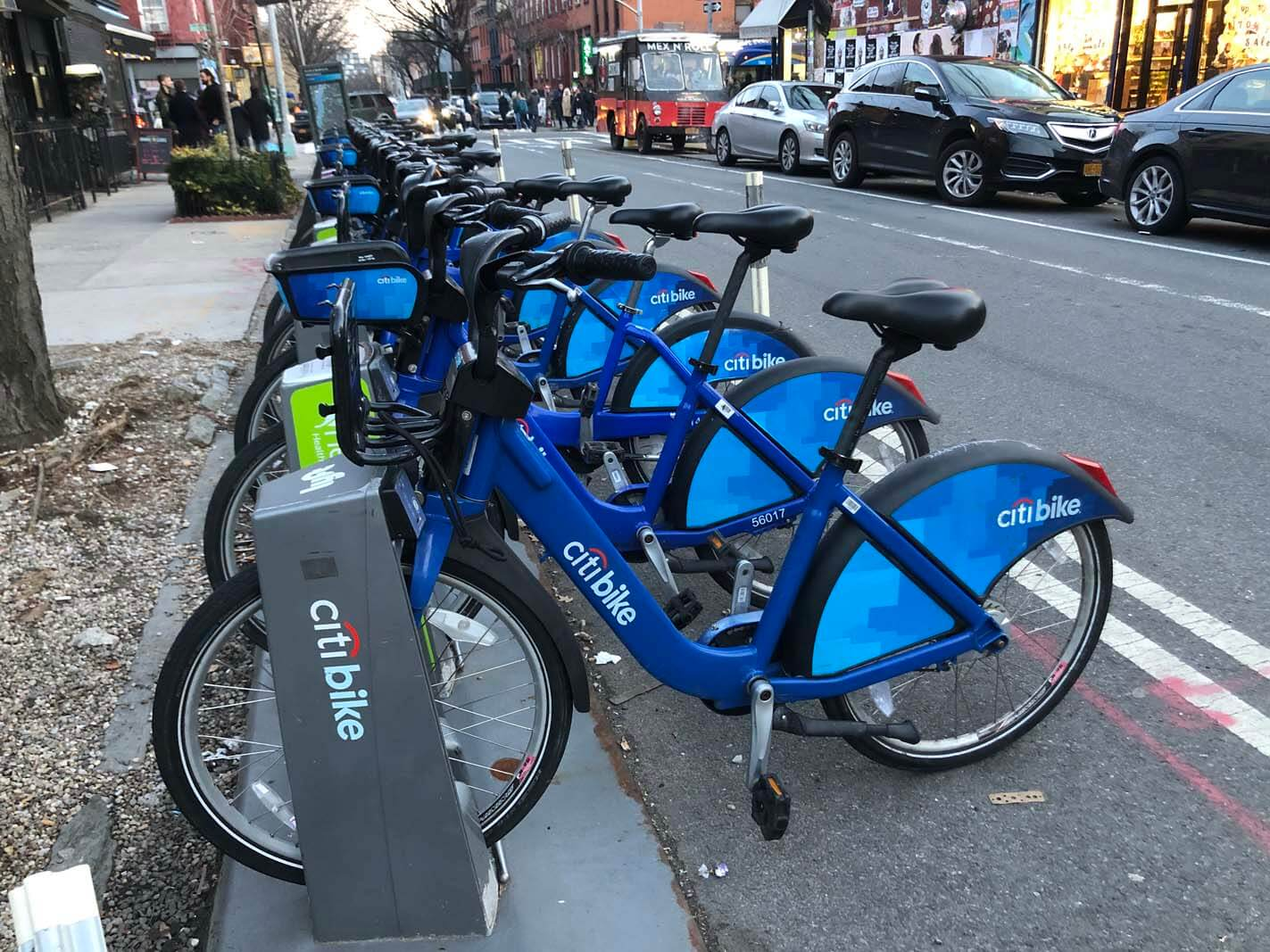 Citi Bike in Brooklyn