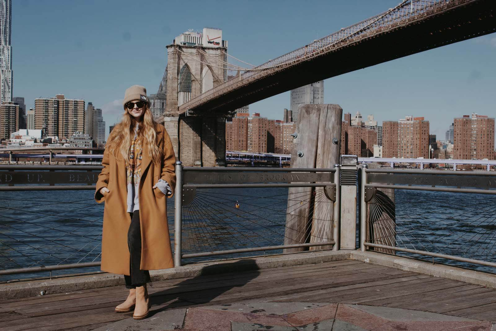 Katie in DUMBO Brooklyn by Katie Hinkle