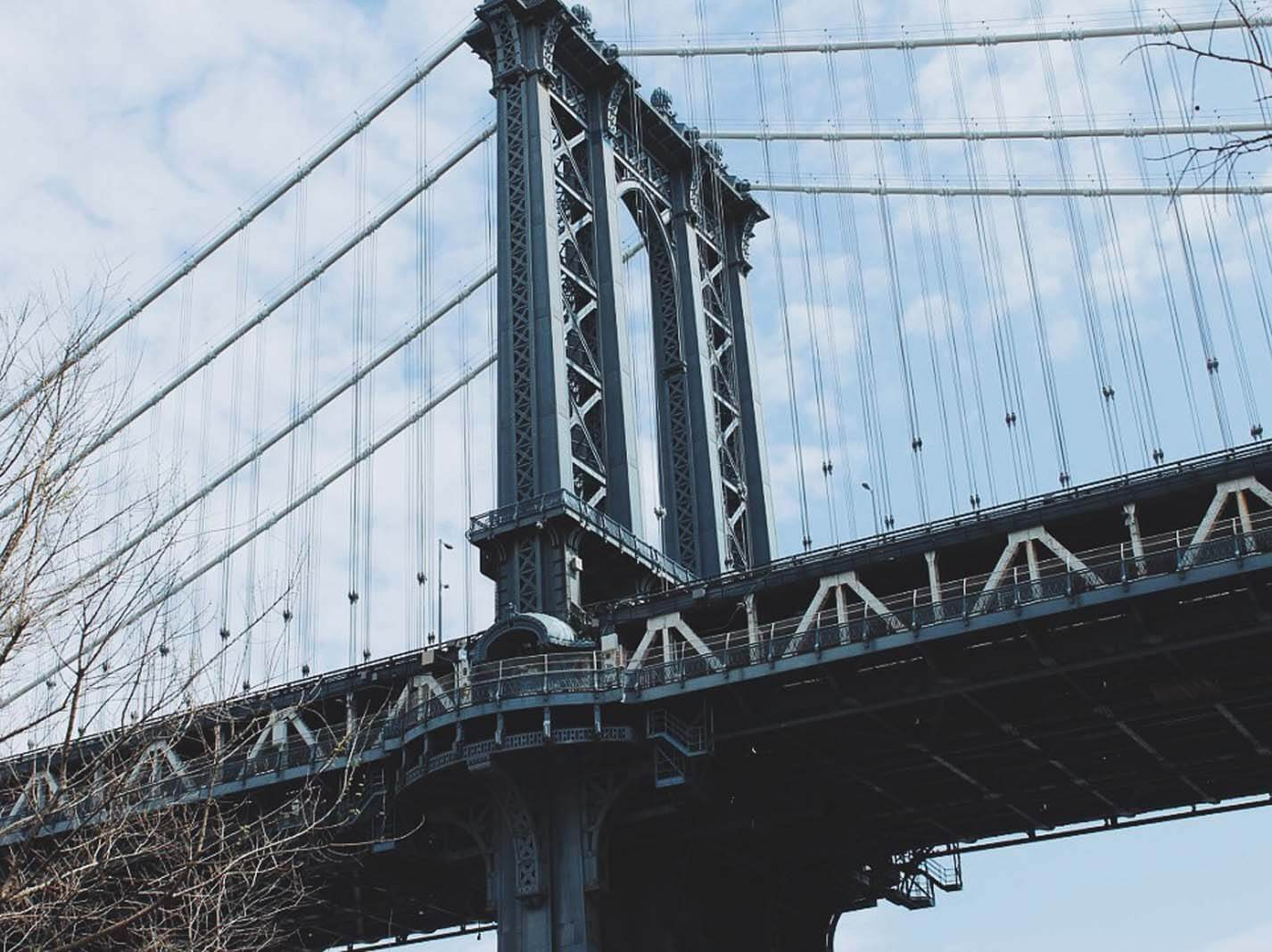 Manhattan Bridge by Katie Hinkle
