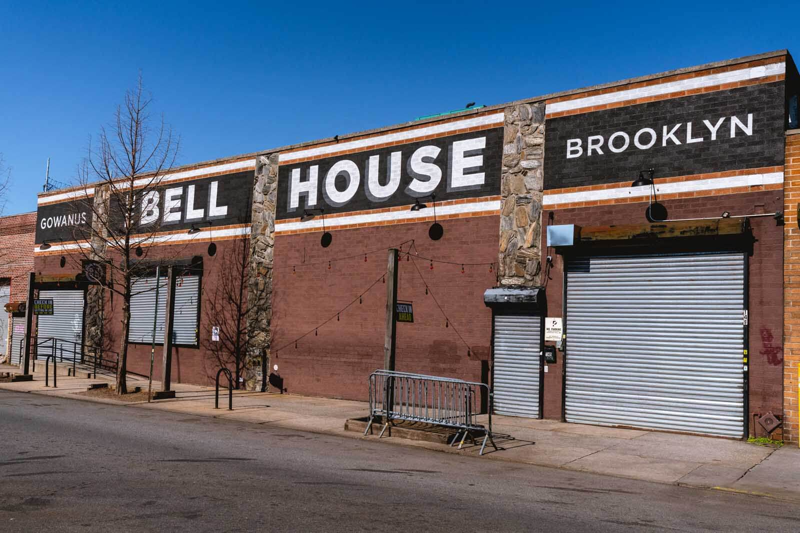 The Bell House in Gowanus Brooklyn