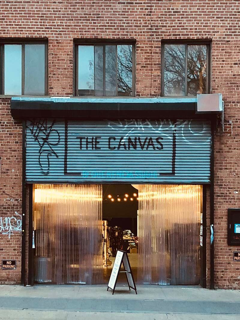 The Canvas in Williamsburg Brooklyn