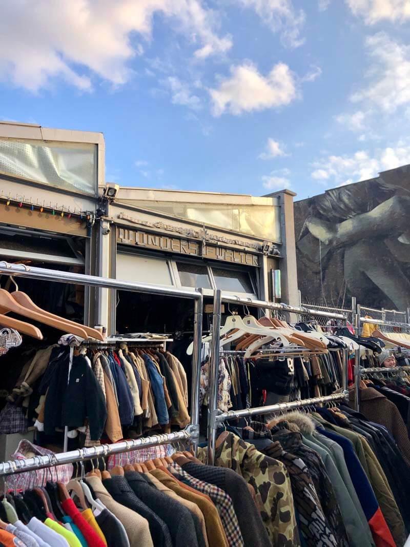 Wonders of Walter thrift and vintage store in Williamsburg Brooklyn