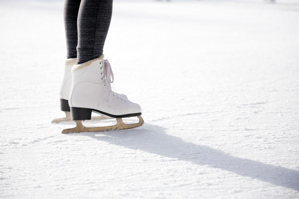 Ice Skating in Brooklyin