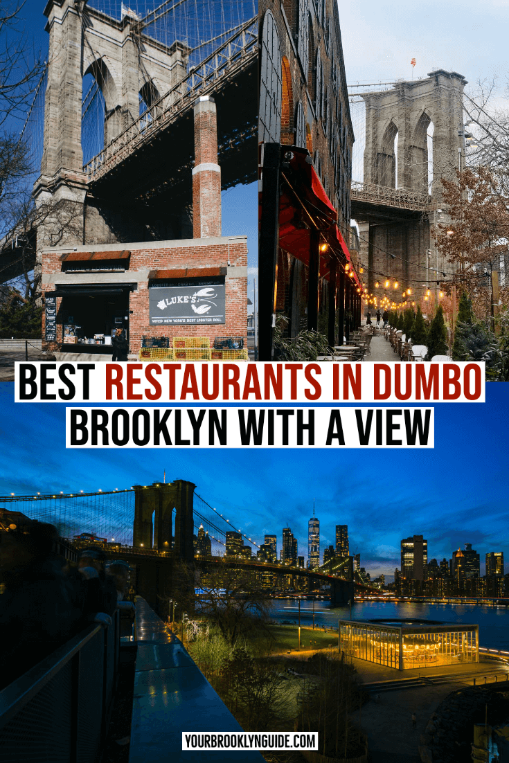 DUMBO Restaurants with a view
