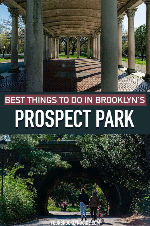 Prospect Park activities