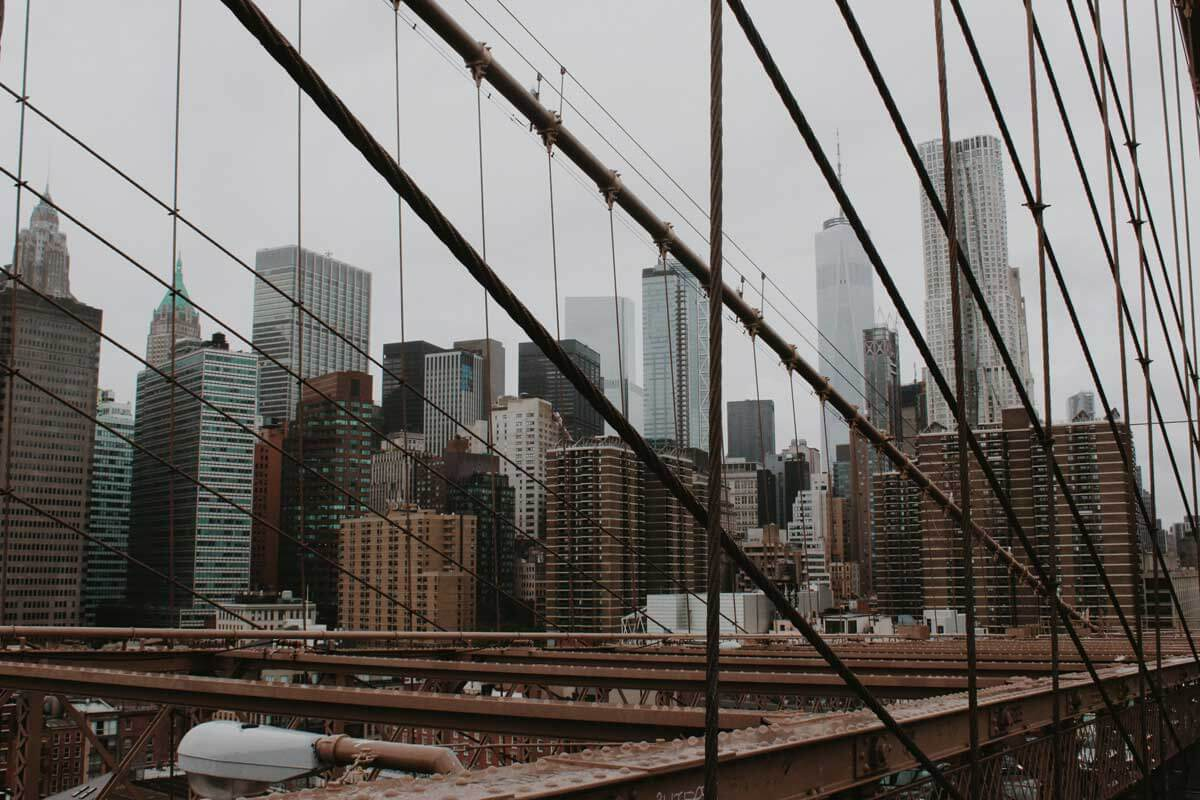 view-frmo-the-Brooklyn-Bridge-and-skyline-by-katie-hinkle