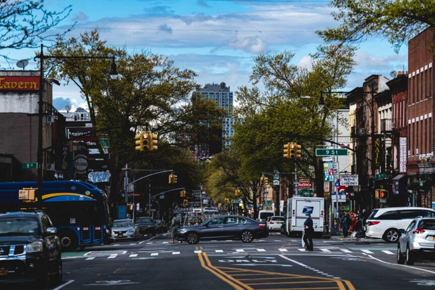 5th Avenue in Park Slope Brooklyn