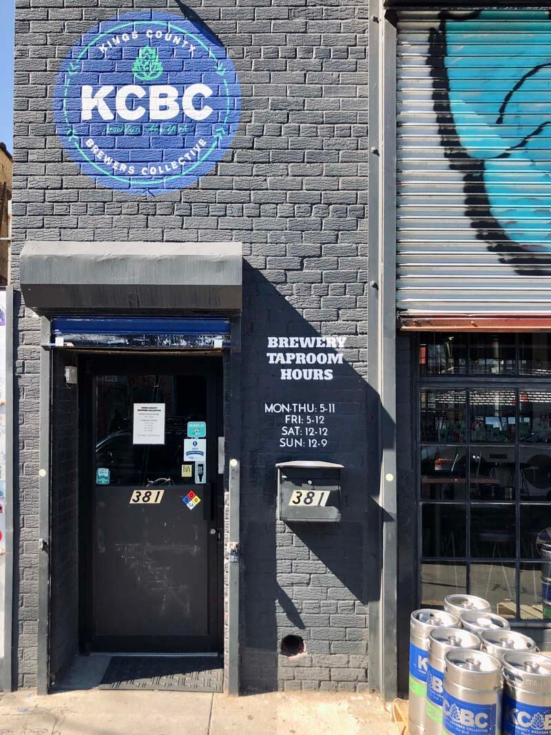 Kings County Brewers Collective in Bushwick Brooklyn
