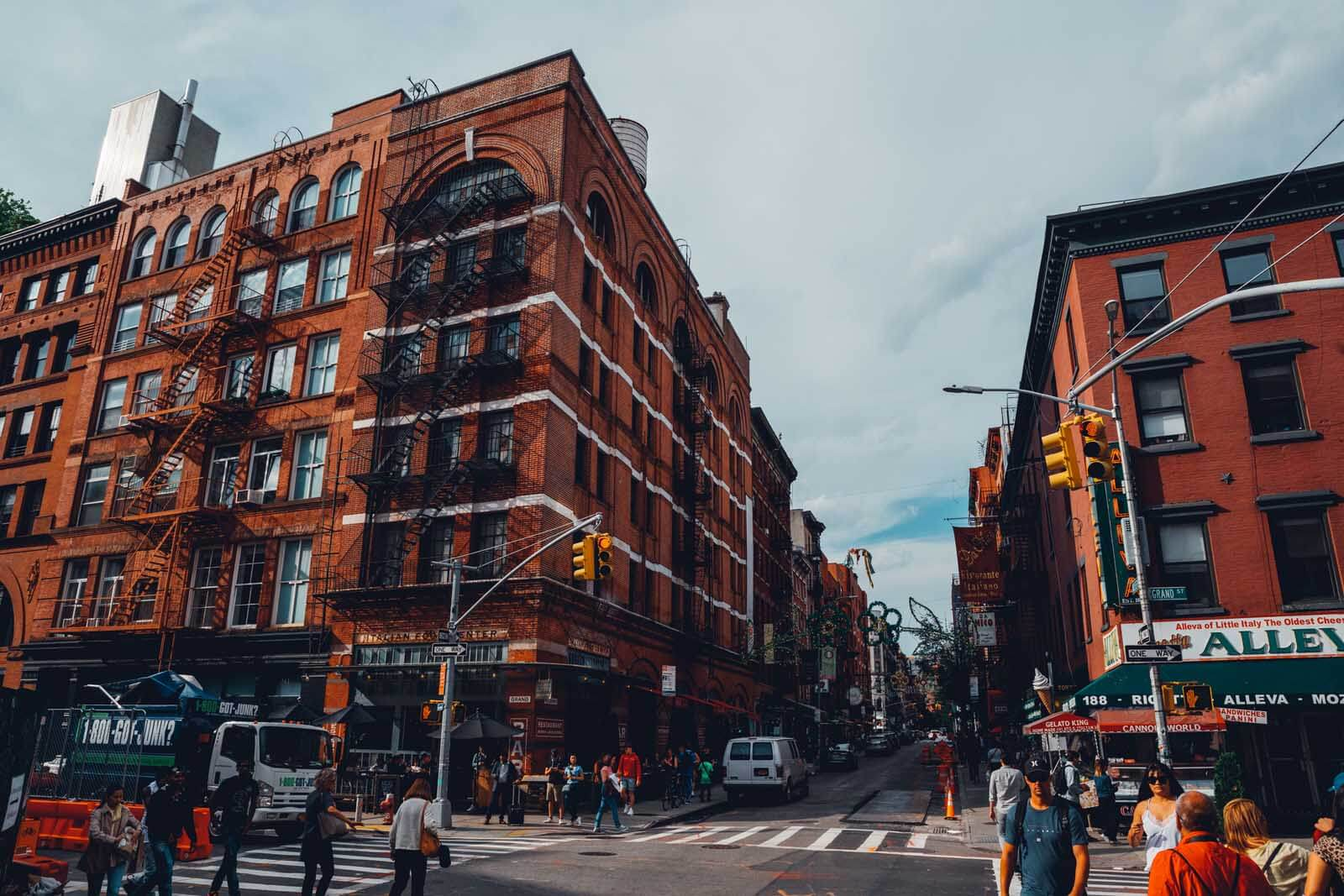 Where Nolita and Little Italy Meet in NYC