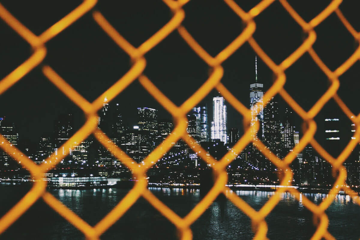 night-view-from-the-Manhattan-Bridge by Katie Hinkle
