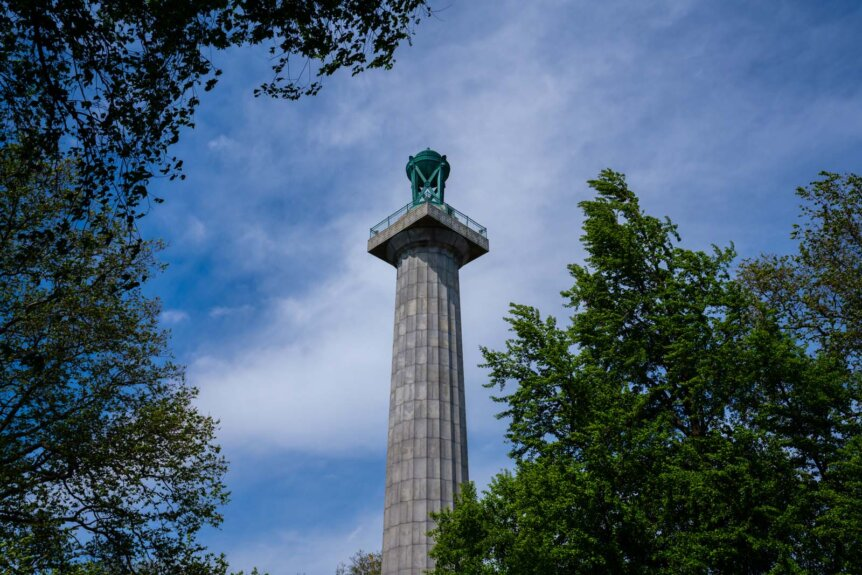 Fort Greene Park monument in Brooklyn