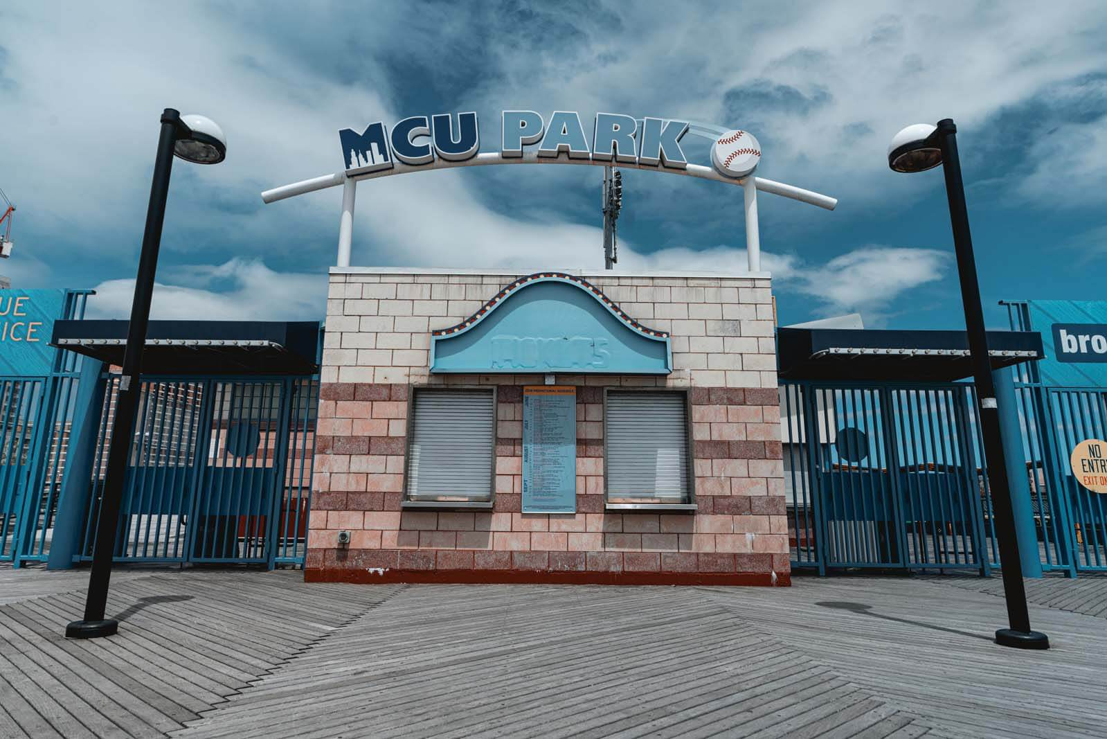 MCU Park at Coney Island where the Cyclones play baseball