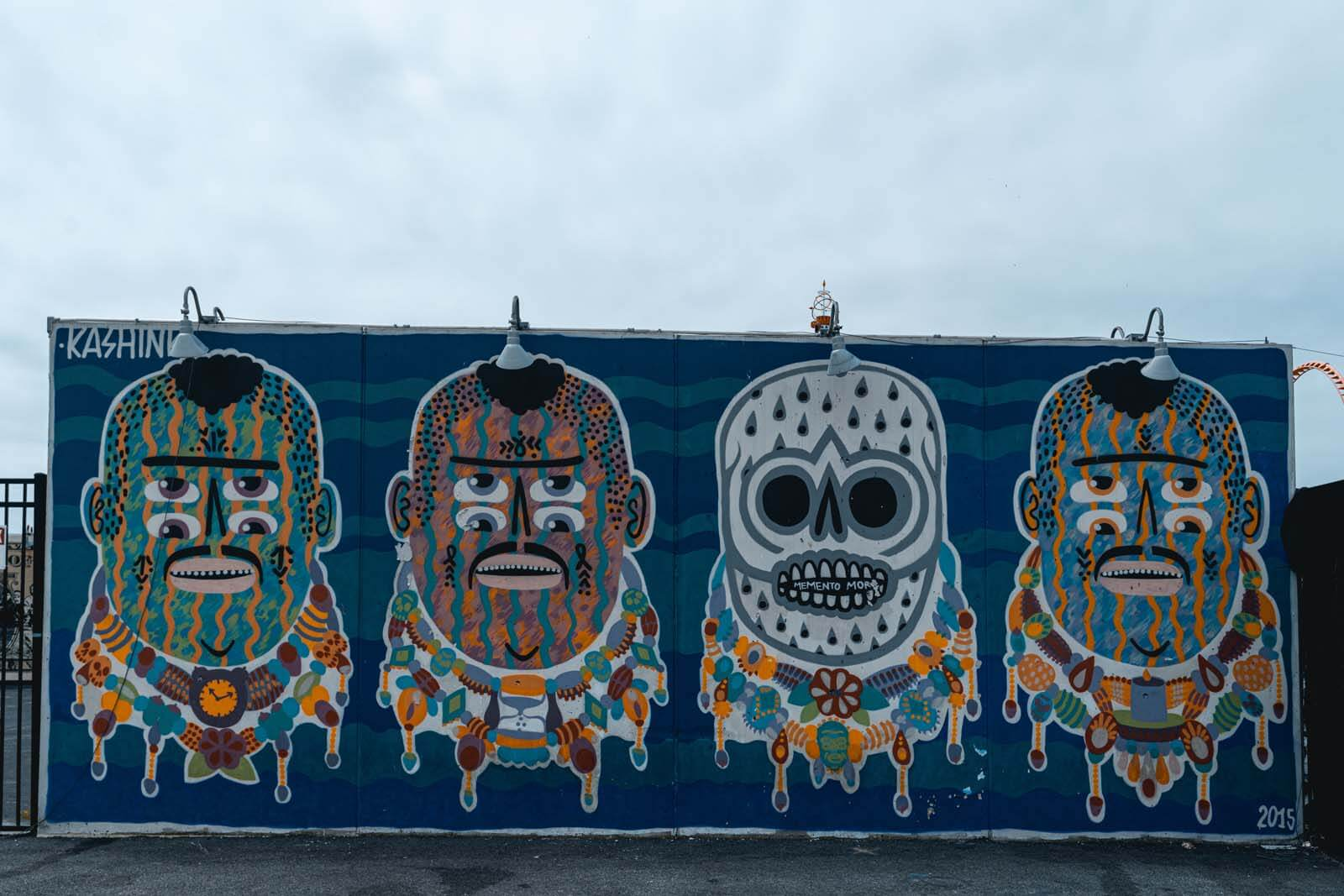 mural on Coney Island Art Walls