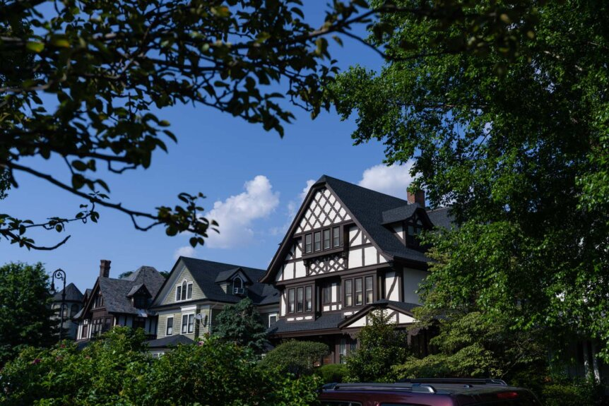 Beautiful big homes in Victorian Flatbush and Ditmas Park in Brooklyn