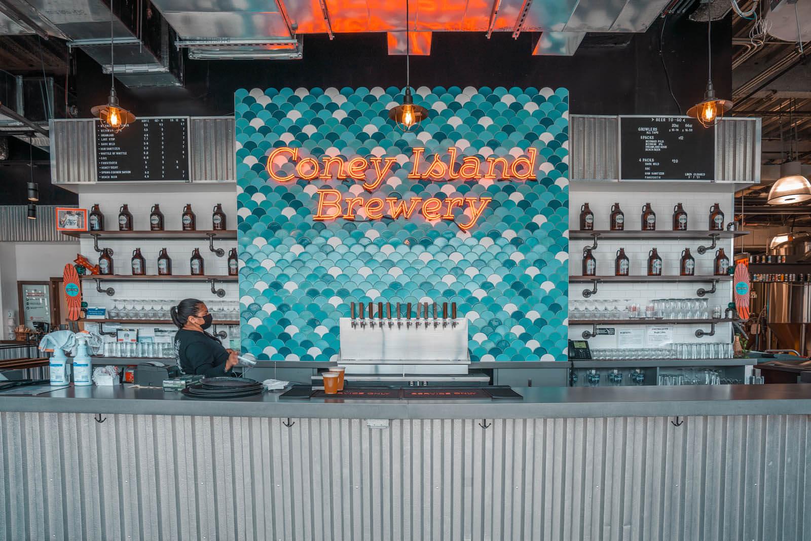 Coney Island Brewery in Brooklyn