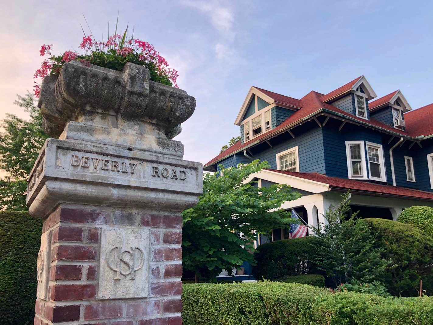 Historic Landmark Beverly Road in Ditmas Park and Victorian Flatbush Brooklyn