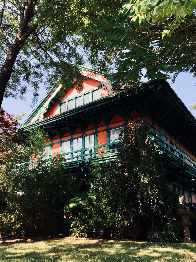 Japanese House in Victorian Flatbush and Ditmas Park Buckingham Road in Brooklyn
