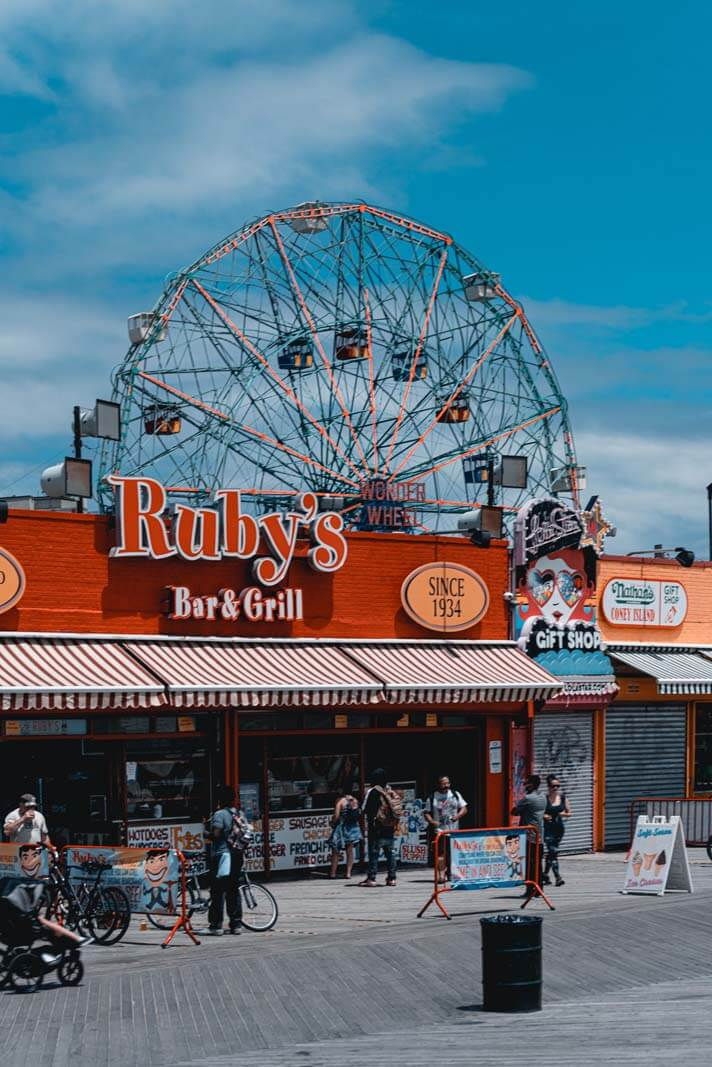 Ruby's Bar and Grill at Coney Island