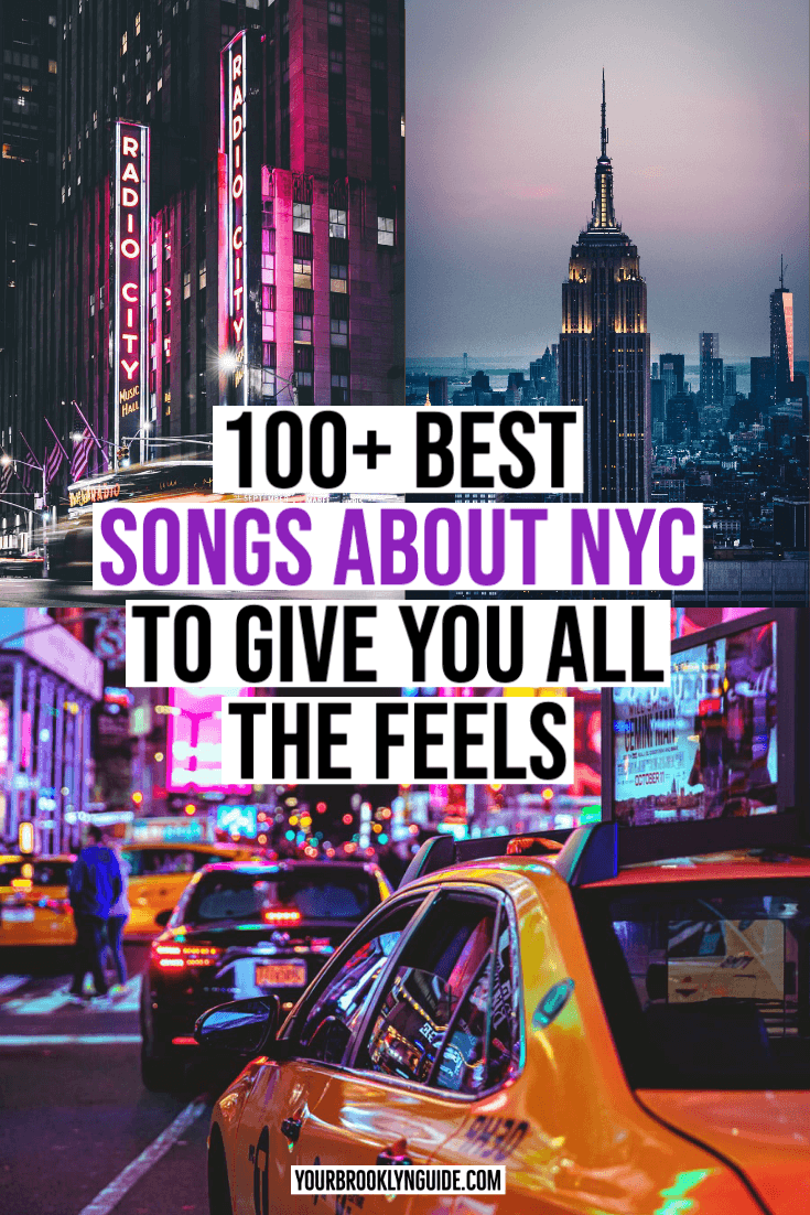 Songs about NYC