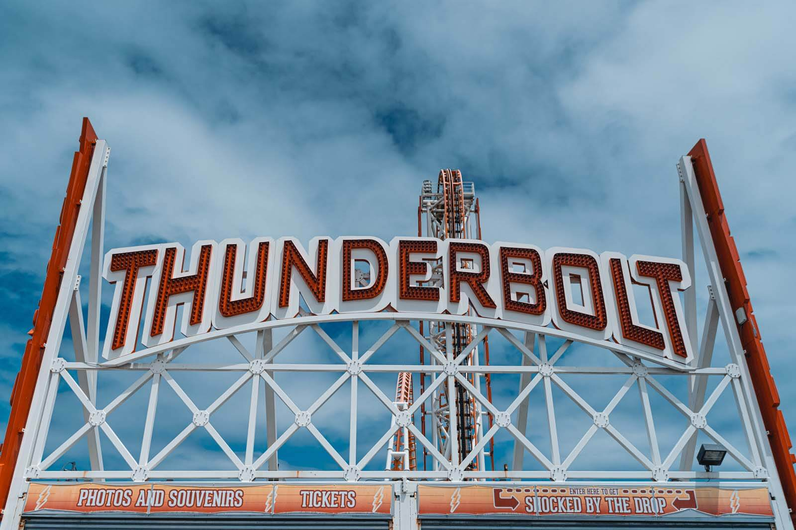 Thunderbolt Entrance at Coney Island