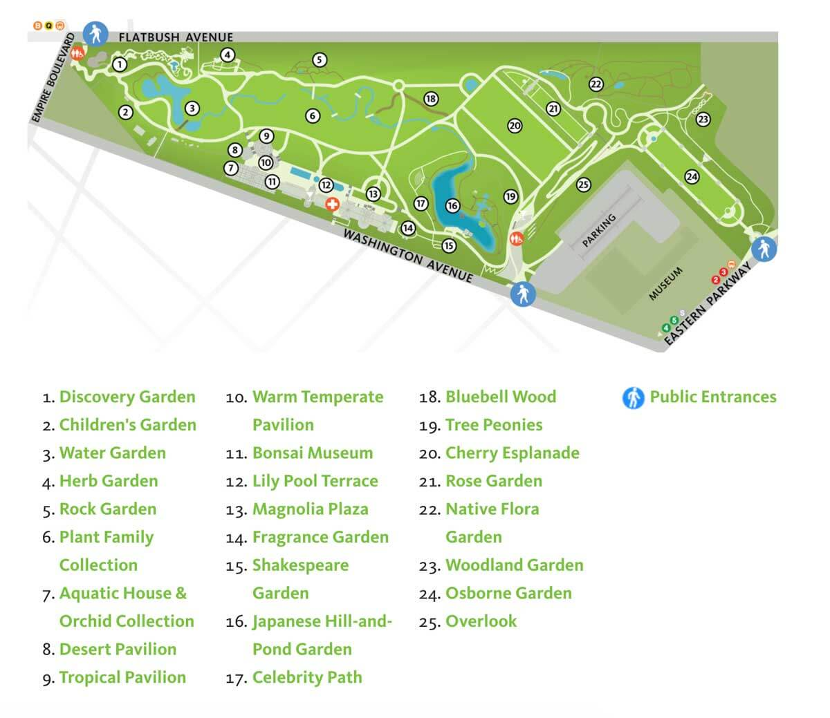 Brooklyn-Botanic-Garden-Map