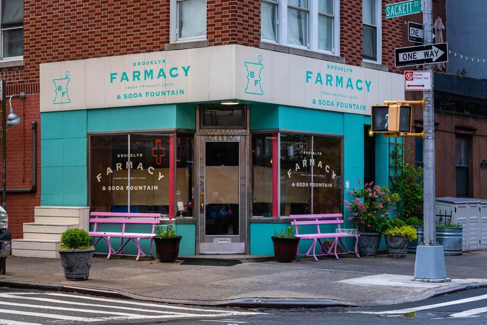 Brooklyn Farmacy and Soda Fountain in Carroll Gardens Brooklyn