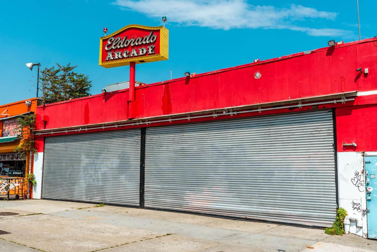 El Dorado Arcade and Bumper Cars in Coney Island