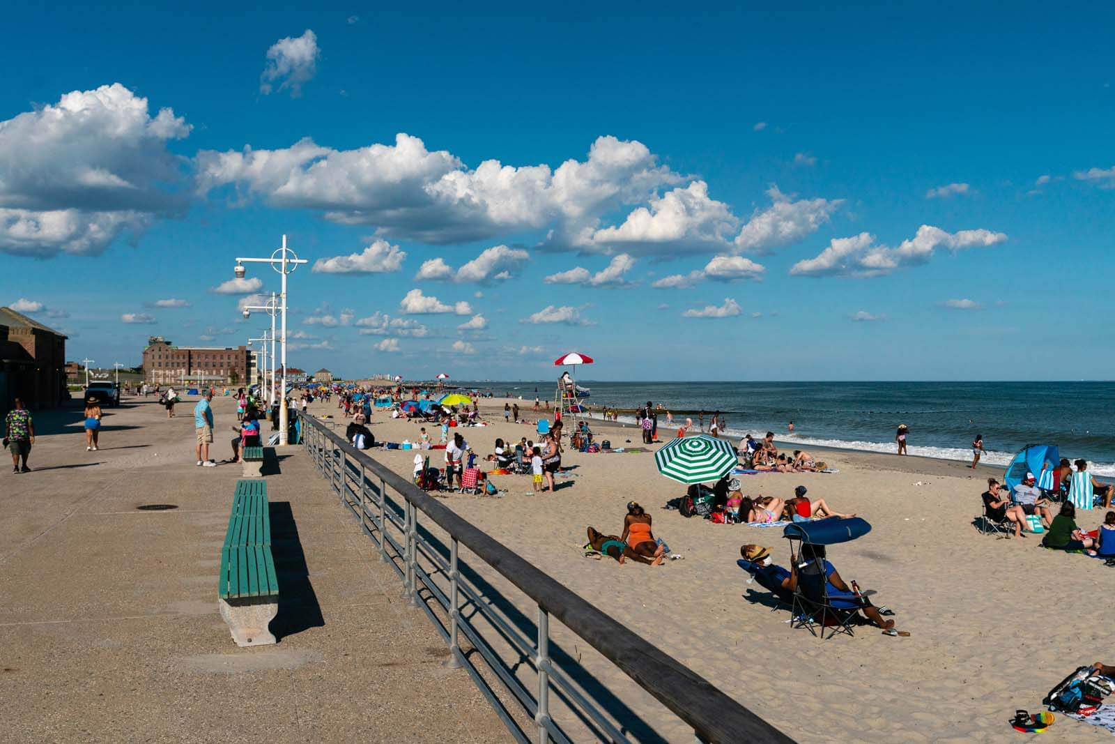 Jacob Riis Beach and Boardwalk in Queens