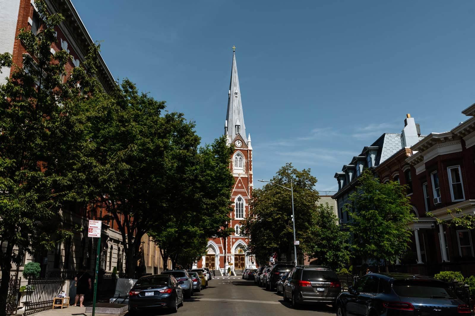 St. Anthony of Padua – St. Alphonsus Parish church in Greenpoint Brooklyn