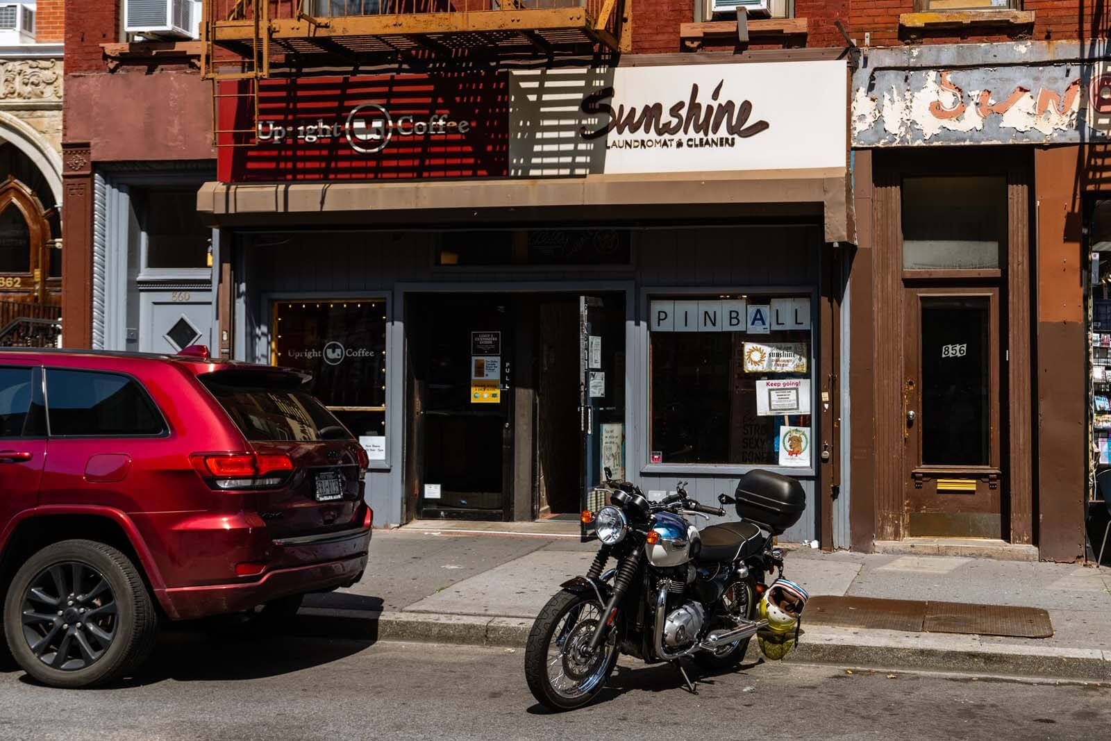 Sunshine Laundromat in Greenpoint Brooklyn