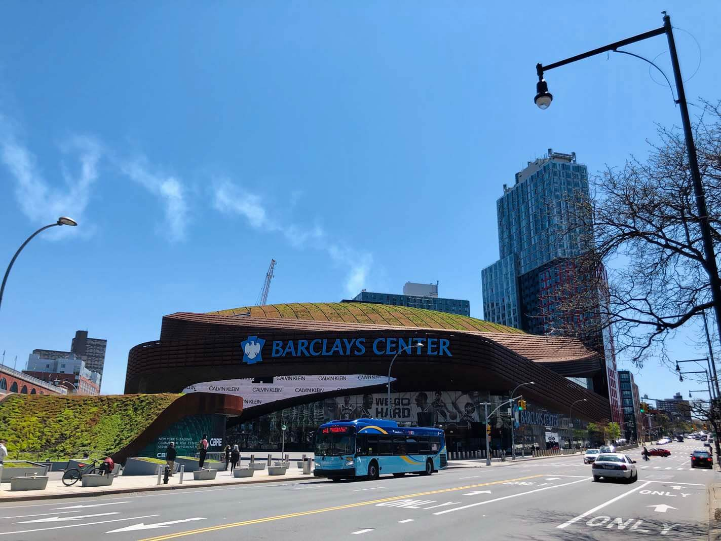 Barclays Center in Downtown Brooklyn