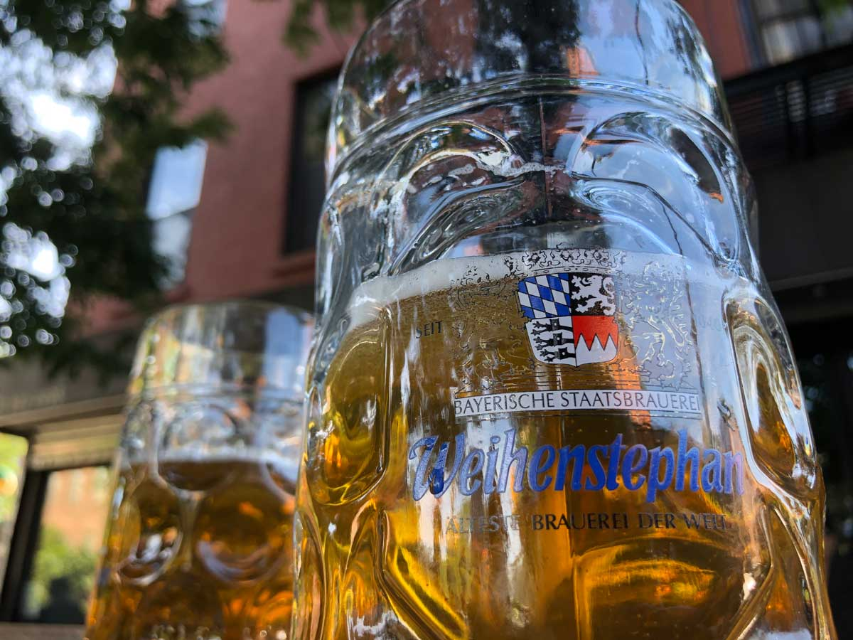 German-beer-gardens-in-Brooklyn-beer