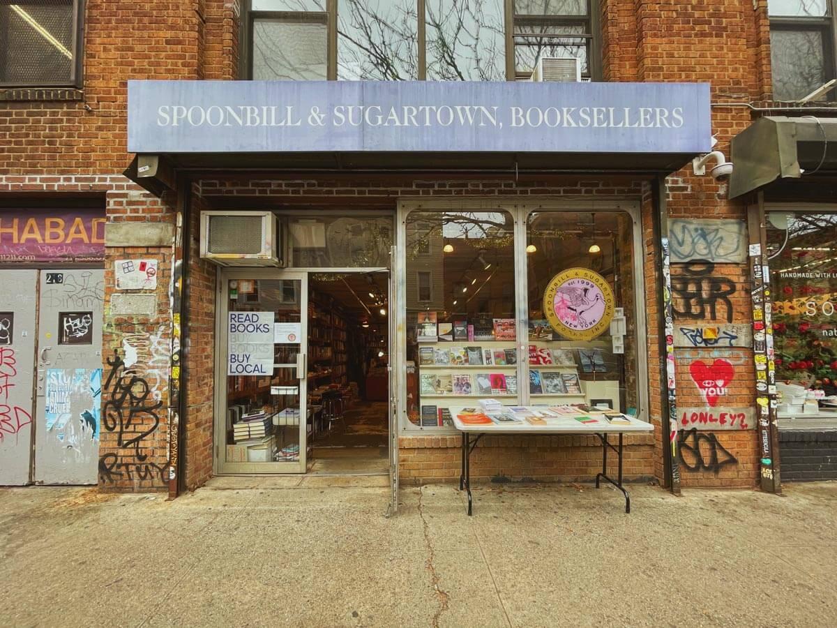 Spoonbill-and-sugartown-bookstore-in-Williamsburg-brooklyn