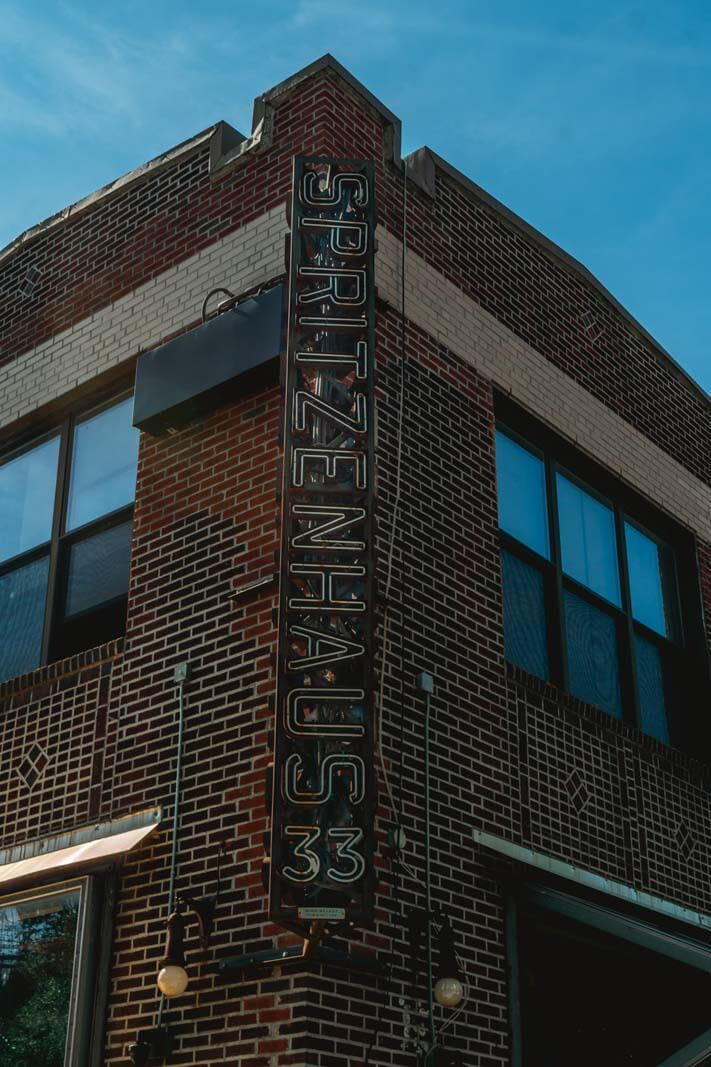Spritzenhaus 33 in Greenpoint german beer hall in Brooklyn
