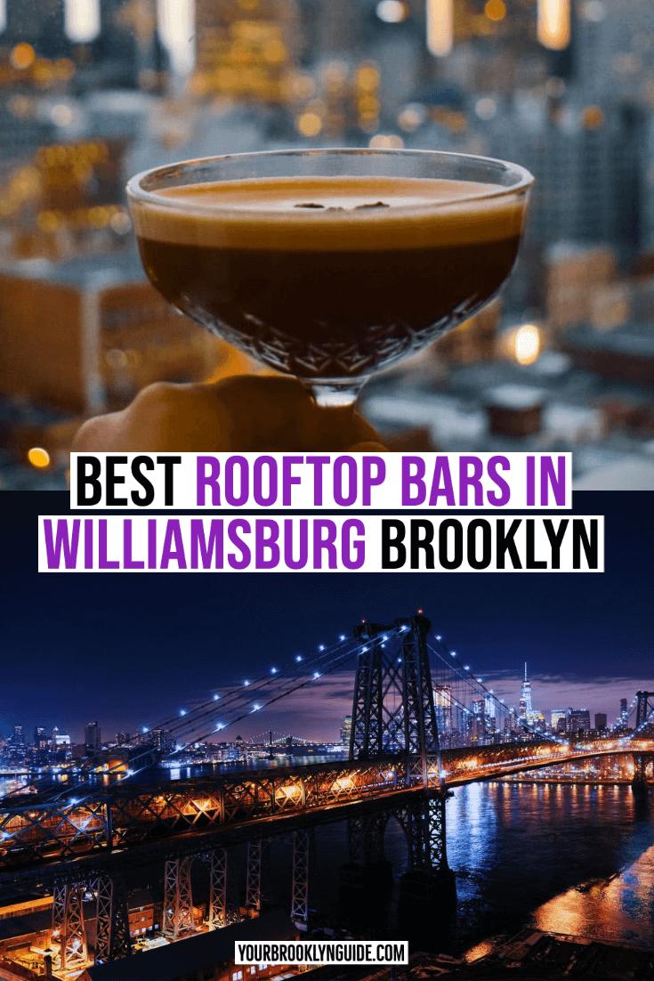 rooftop bars in Williamsburg Brooklyn