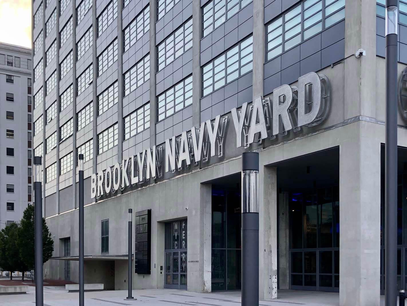 Brooklyn Navy Yard in Brooklyn
