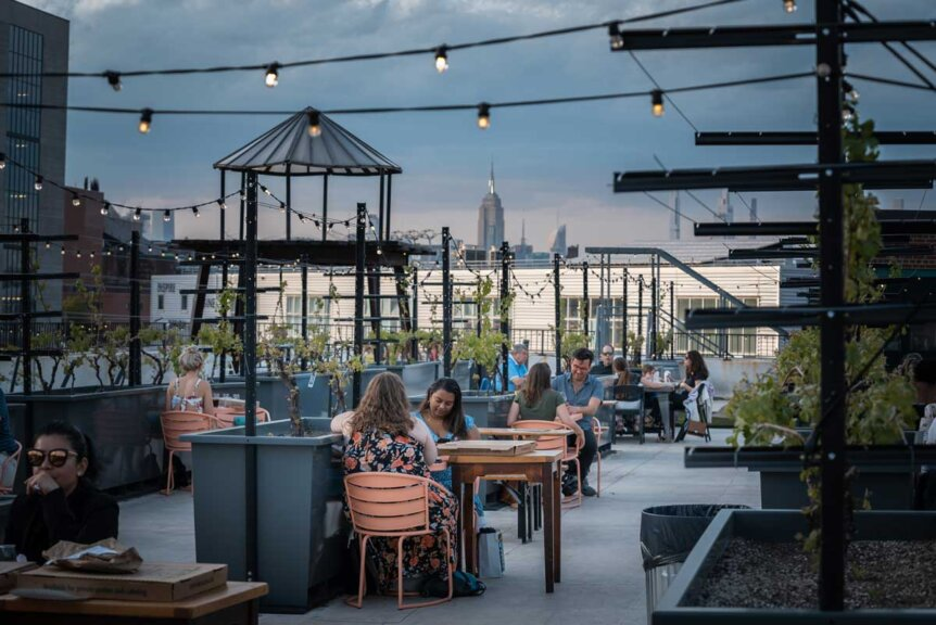 Rooftop-Reds-in-Navy-Yard-wine-tasting-at-sunset-rooftop-bar-in-brooklyn
