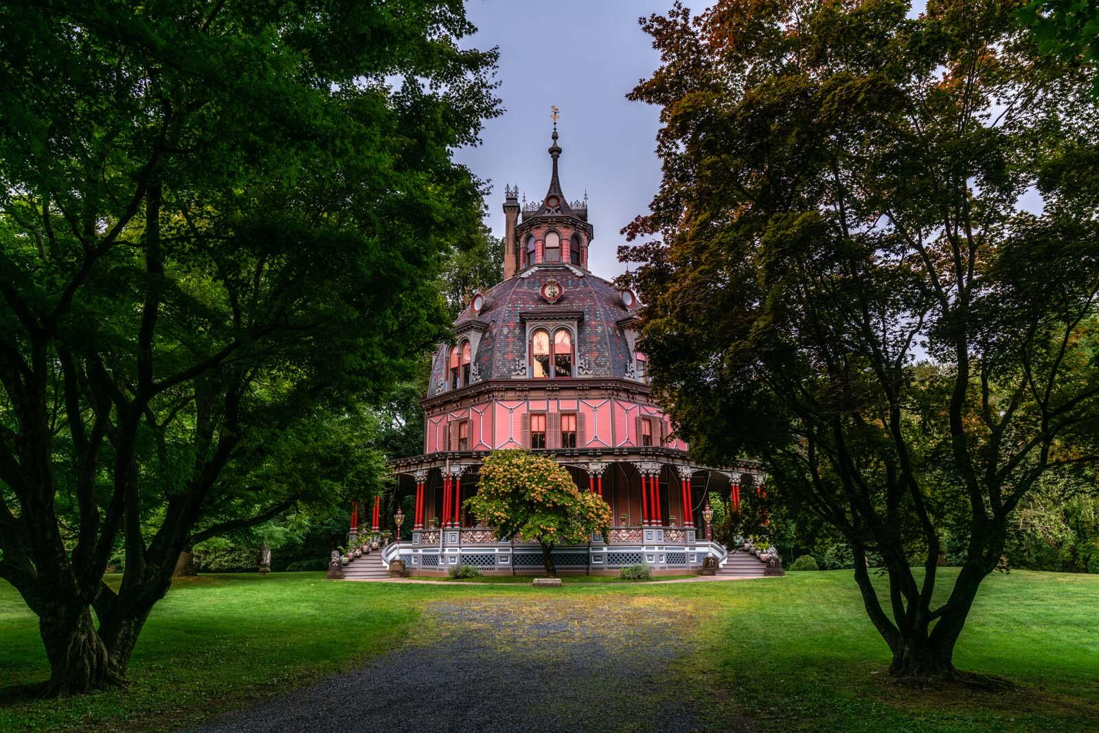 The Armour Stiner Octagon House in Tarrytown New York