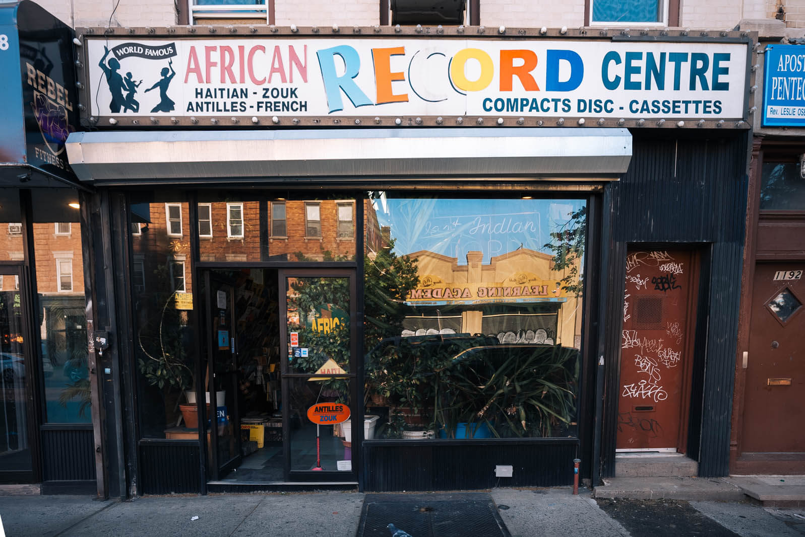 Africans Record Center in Prospect Lefferts Gardens Brooklyn